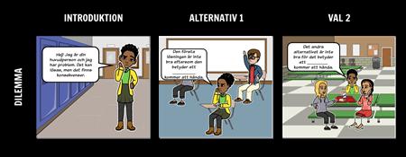 Exempel på Dilemma - Definitionsmall