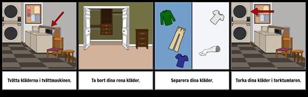 Första ... Senaste Exempel - Tvätt Kläder