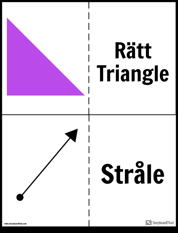 Geometri Flashcards
