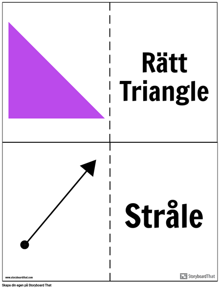 Geometri Flashcards
