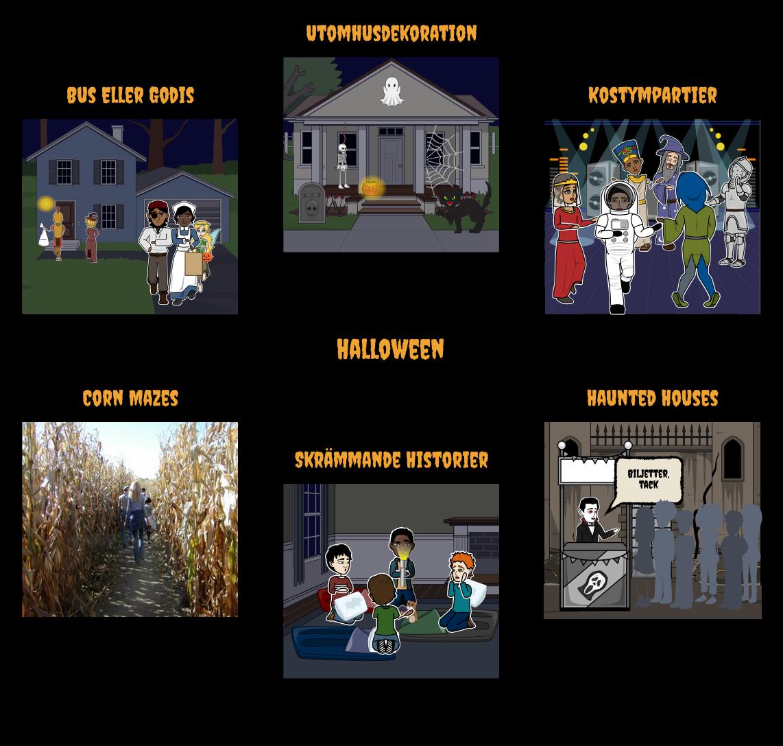 Halloween Aktiviteter för Klassrummet  490fc410af484