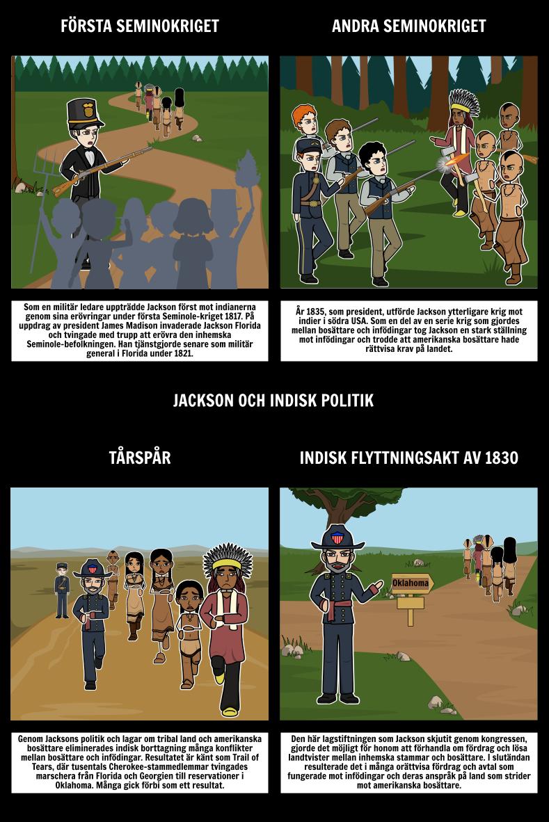 Jacksonian Demokrati - Jackson och Indiska Policy