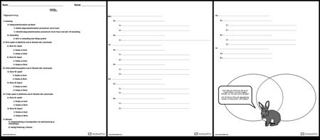 Jämför Kontrastskiss