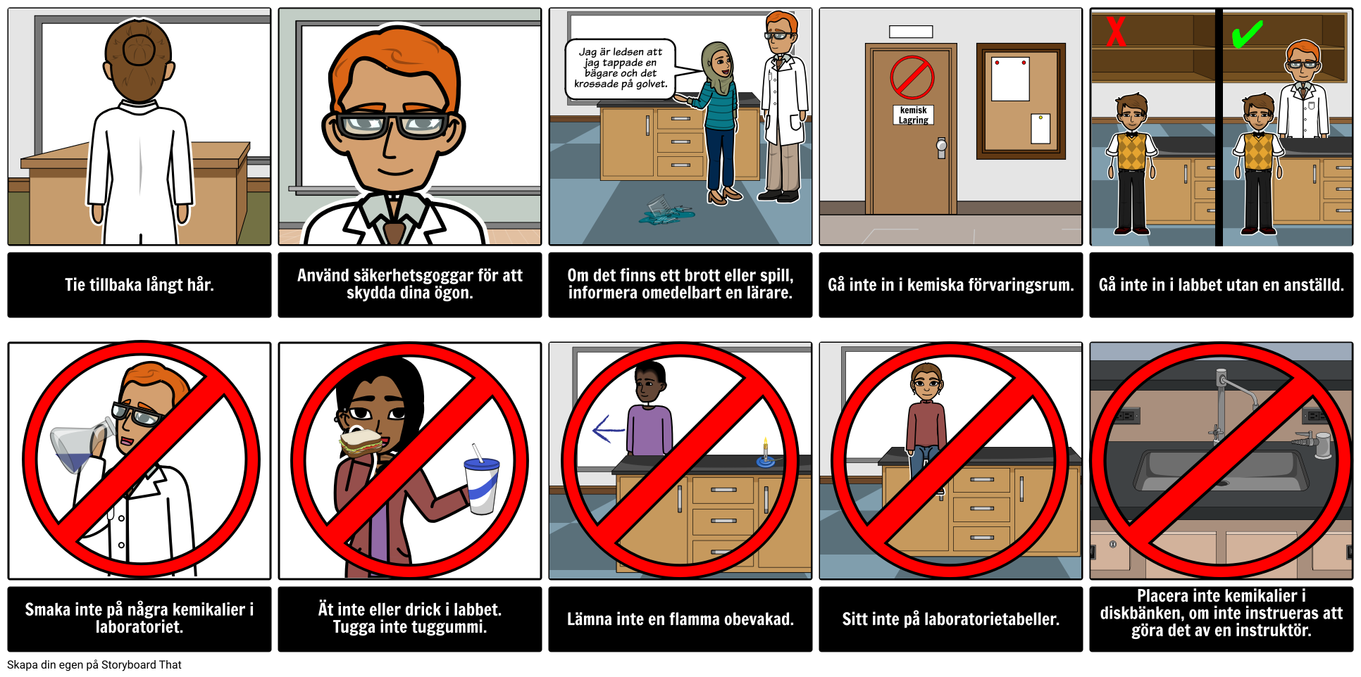 Lab Safety Rules