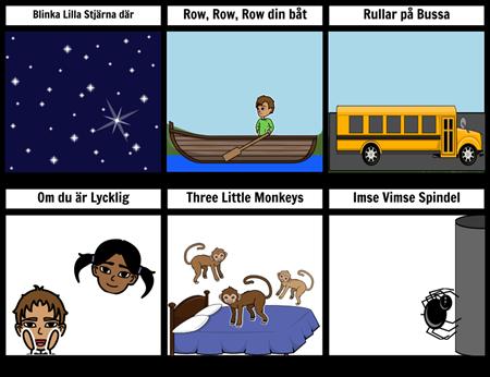 Låten Card Exempel
