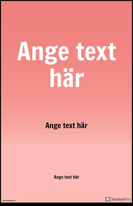 PSA-affisch