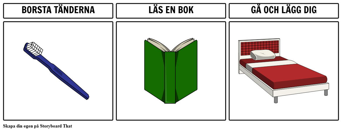Rutin Diagram Exempel