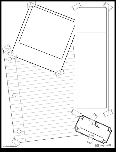 Scrapbook-sida