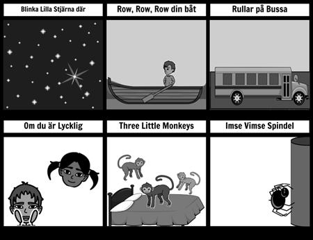 Song Kort Gråskala