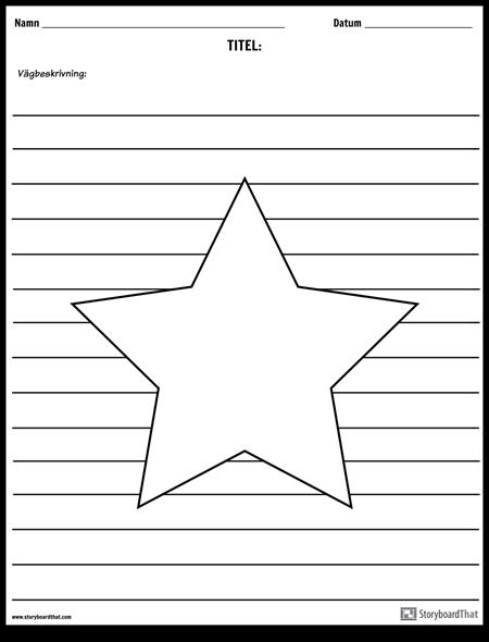 Stjärnillustration
