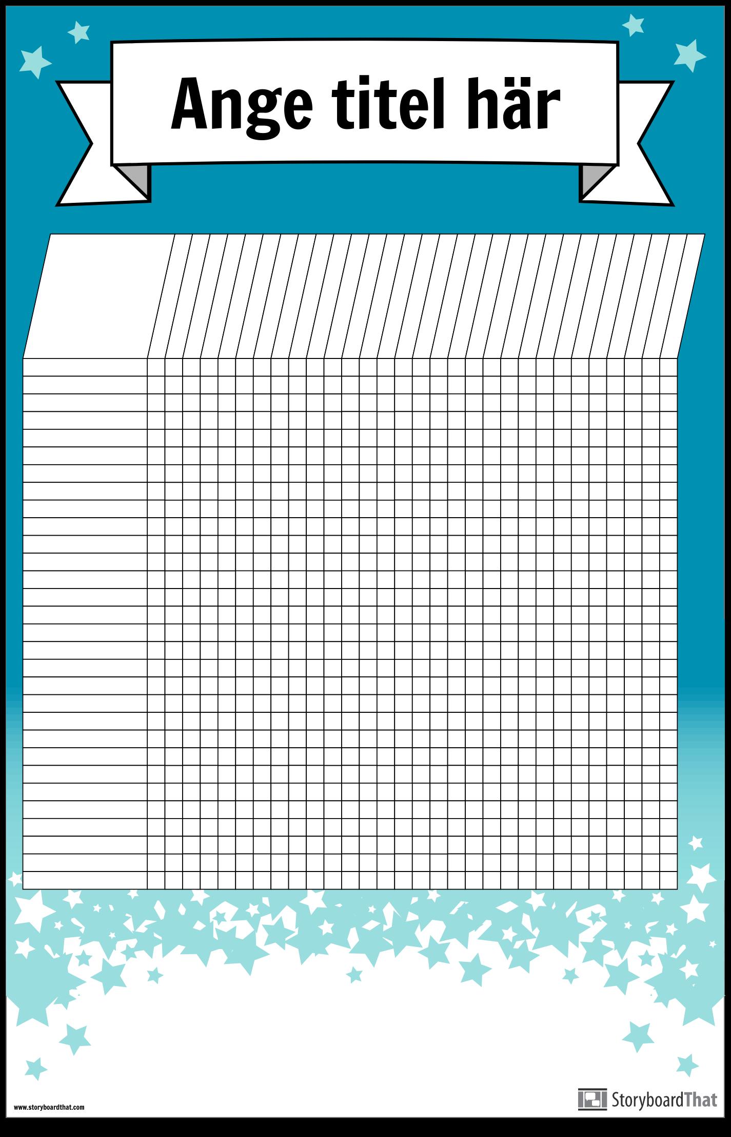 Student Diagramaffisch