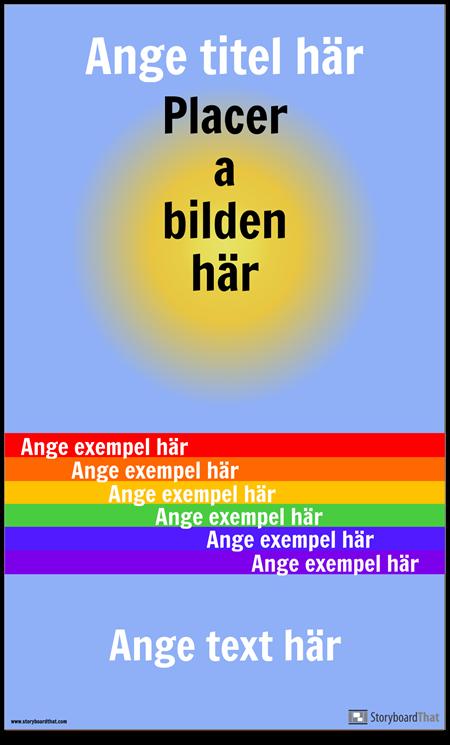 Visual Vocab-affisch