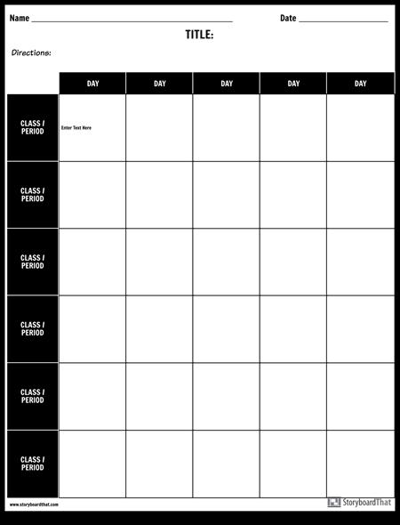 Weekly Grid