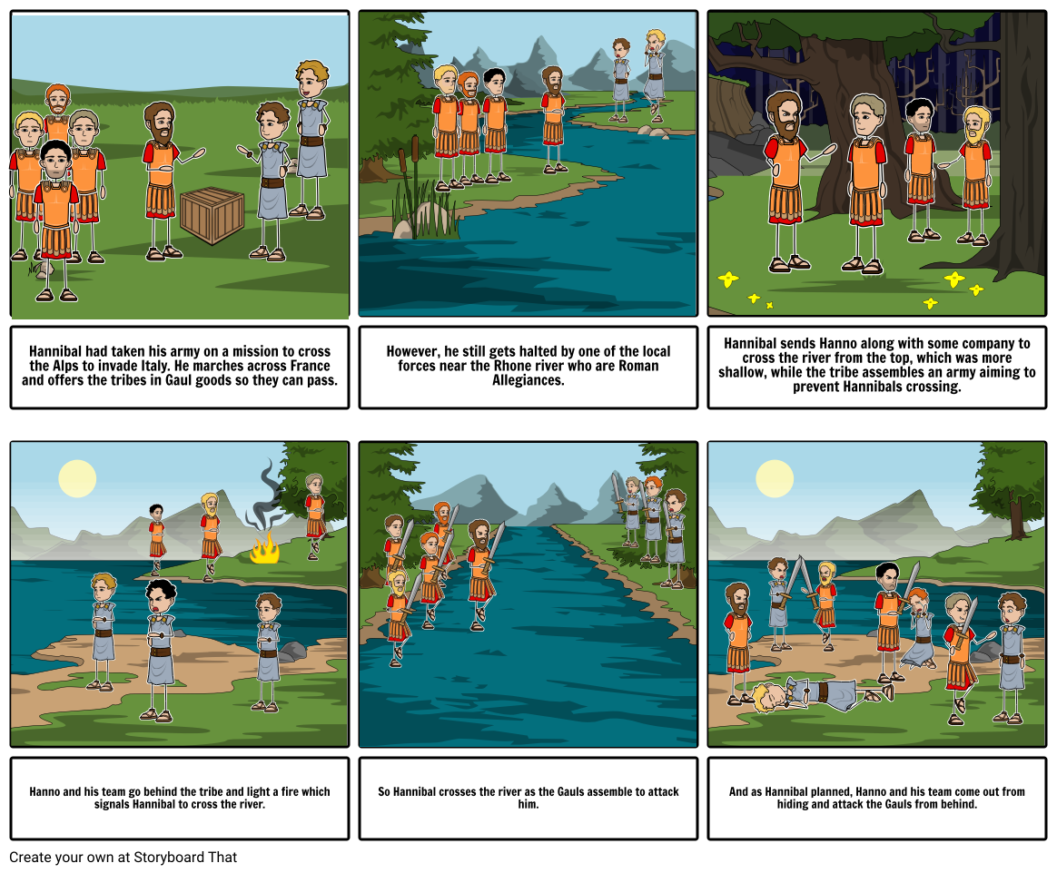 The Rhone River (Punic Wars0 [Roman history]