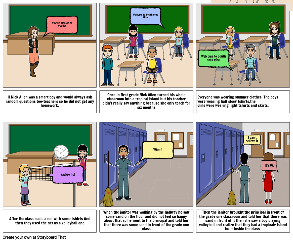 Chapter 1 of FRINDLE by Tegh & Simrat Storyboard