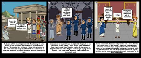 Julius Caesar storyboard 2