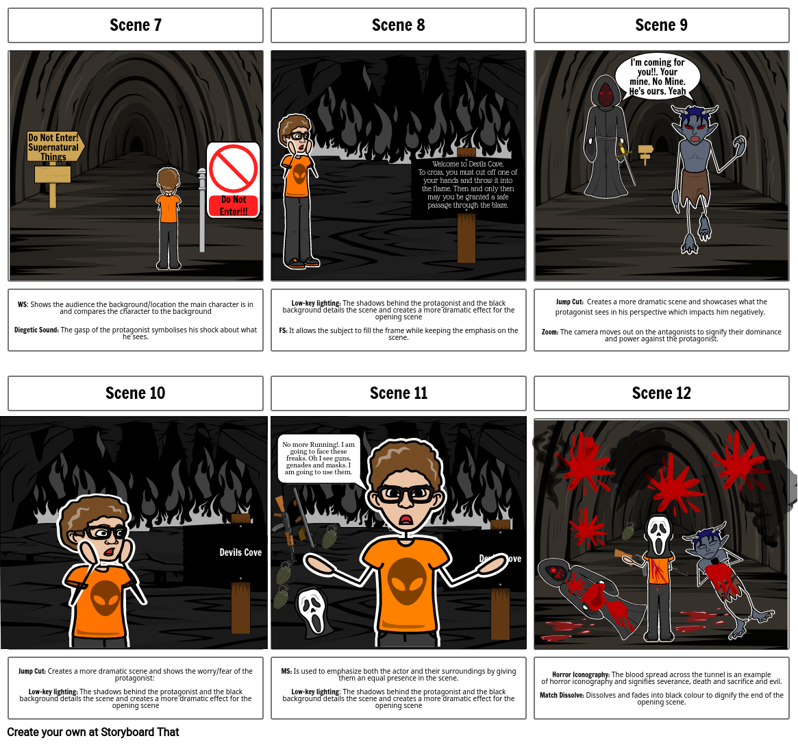 English Storyboard assessment 2