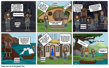 The Odyssey Creative Project - Comic Strip