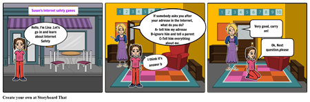 Internet Safety Game 1