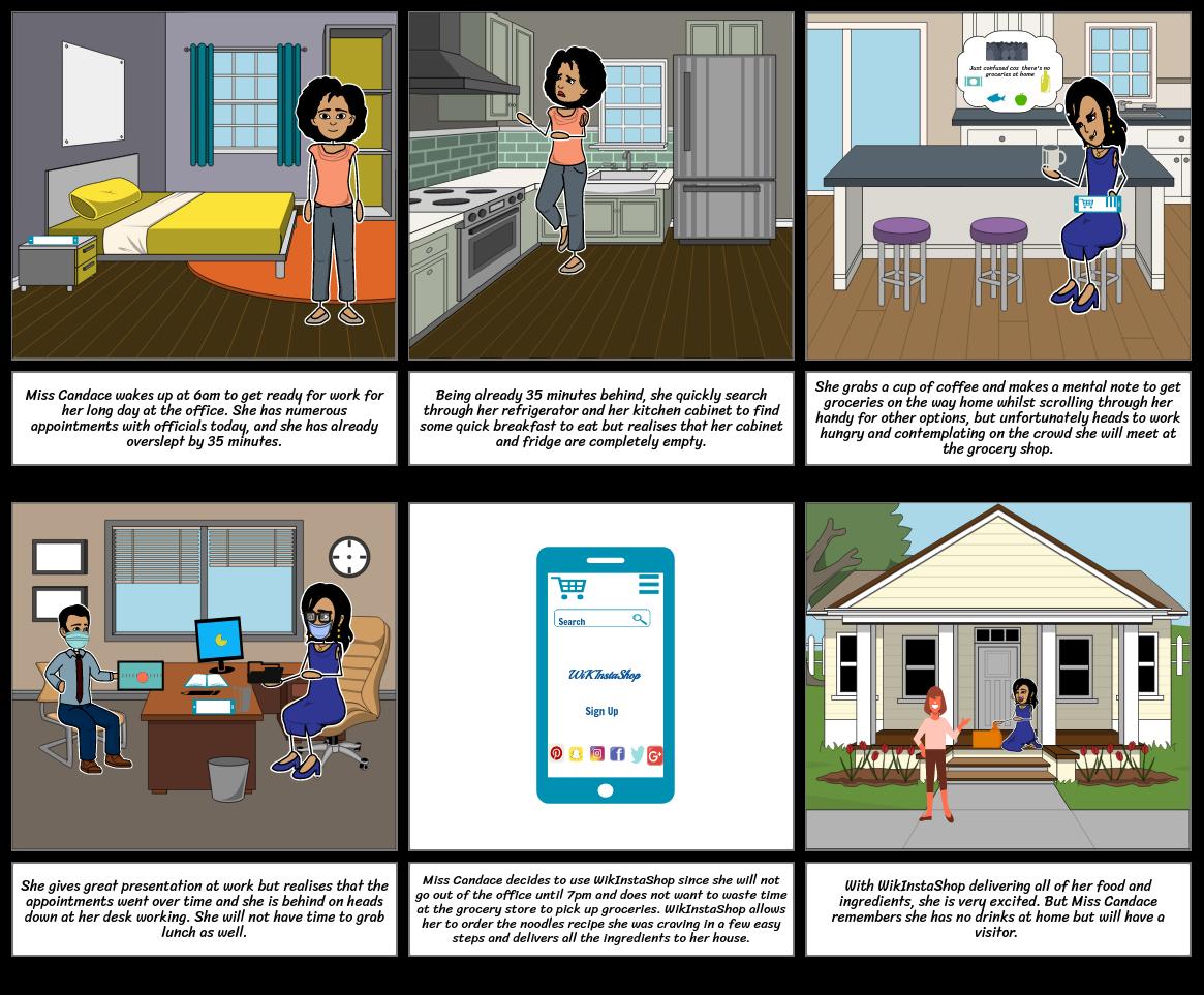 Vision StoryBoard