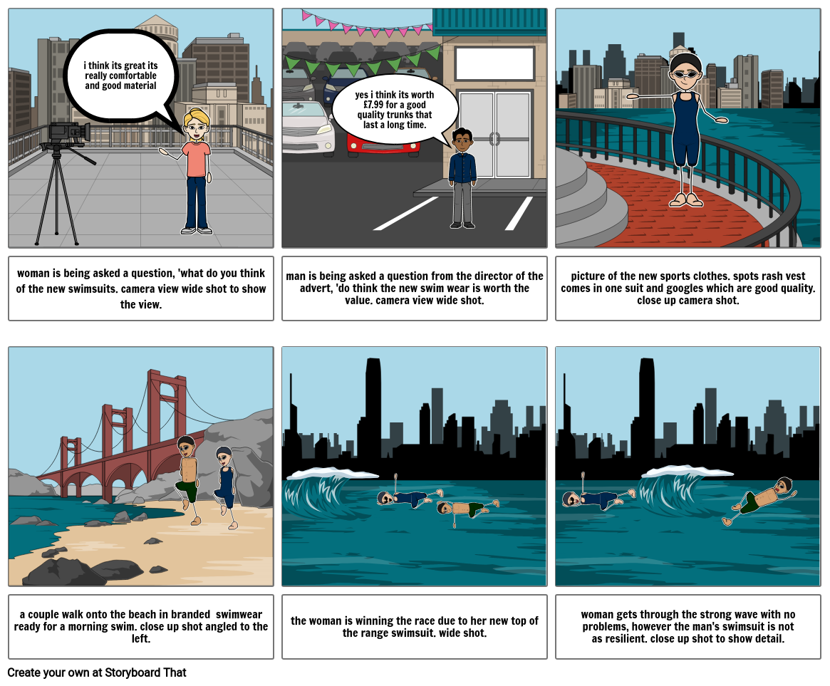 creative ict assessment storyboard.
