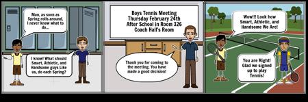 2018 Tennis Meeting