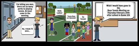Tennis Meeting pass