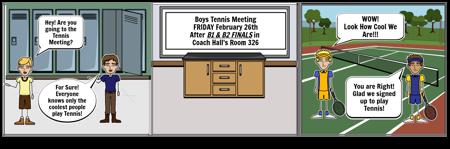 Tennis Meeting