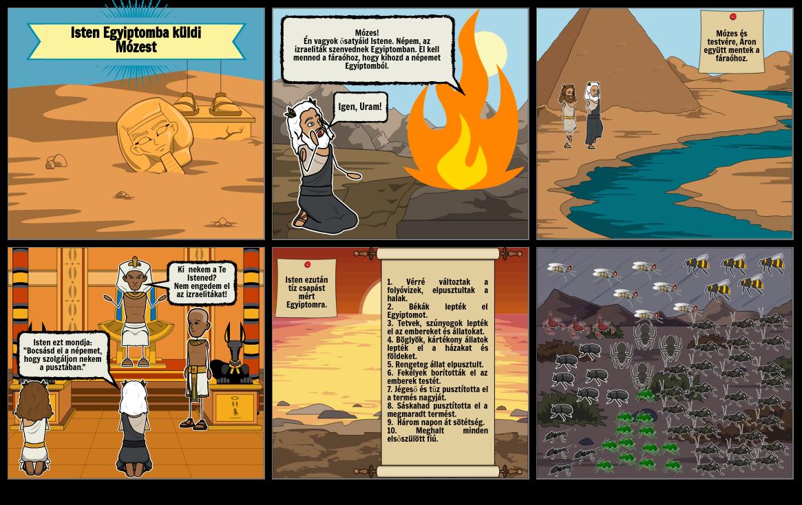 Isten Egyiptomba küldi Mózest
