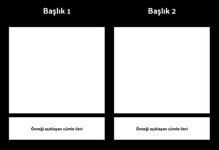 Açıklama 1 satırı ile T-Grafik