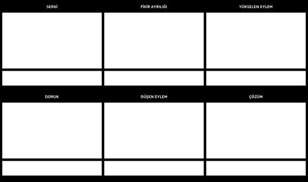 Arsa Diyagramı Planlayıcısı Storyboard Şablonu
