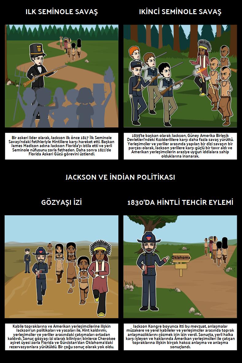 Jacksonian Demokrasi - Jackson ve Hint Politikası