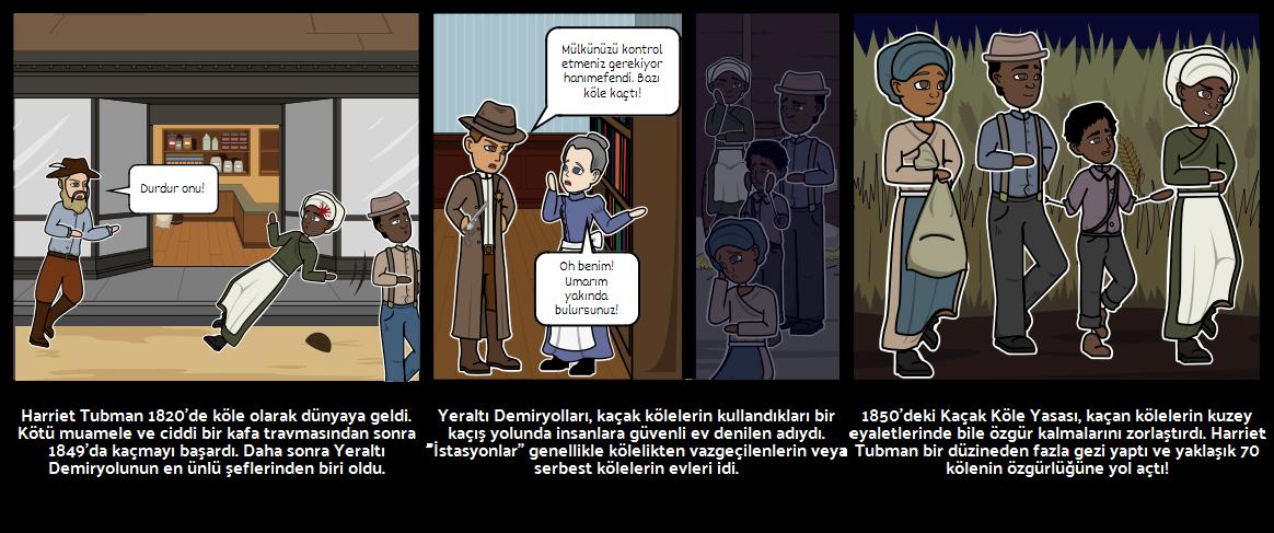Kara Tarih Ay - Harriet Tubman