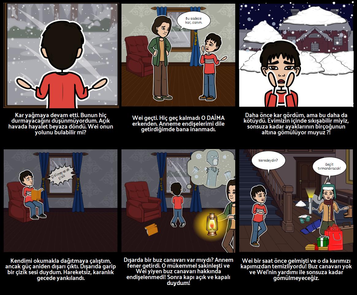 Kış Tatili - Öykü