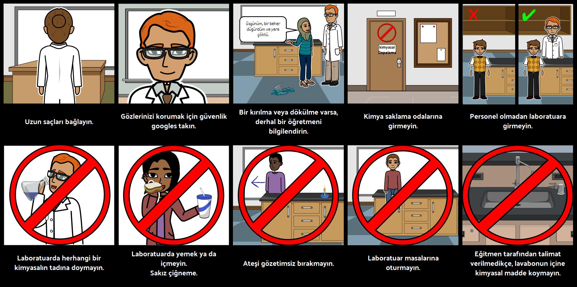 Laboratuvar Güvenliği Kuralları