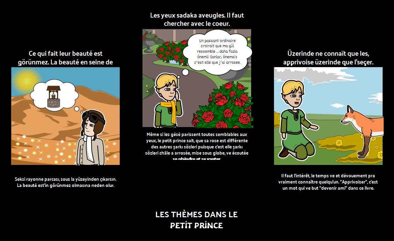 Le Petit Prince Temaları