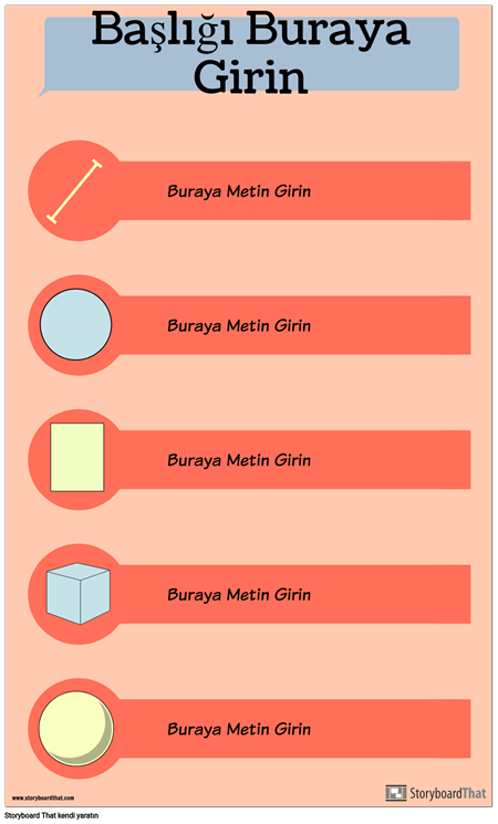 Şekiller Infographic