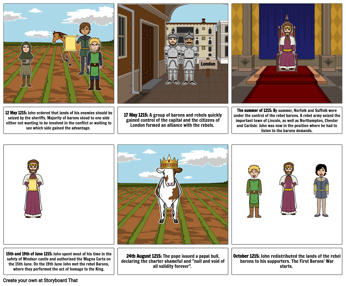 the barons rebellion of 1215 pt2