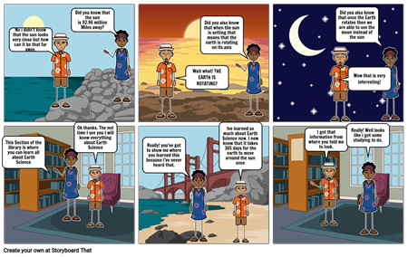 Nature of Science Comic Strip