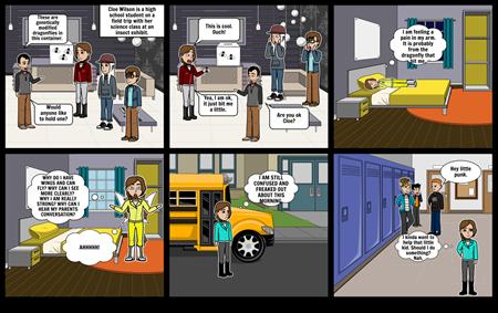 Hero Journey's Comic Part 1
