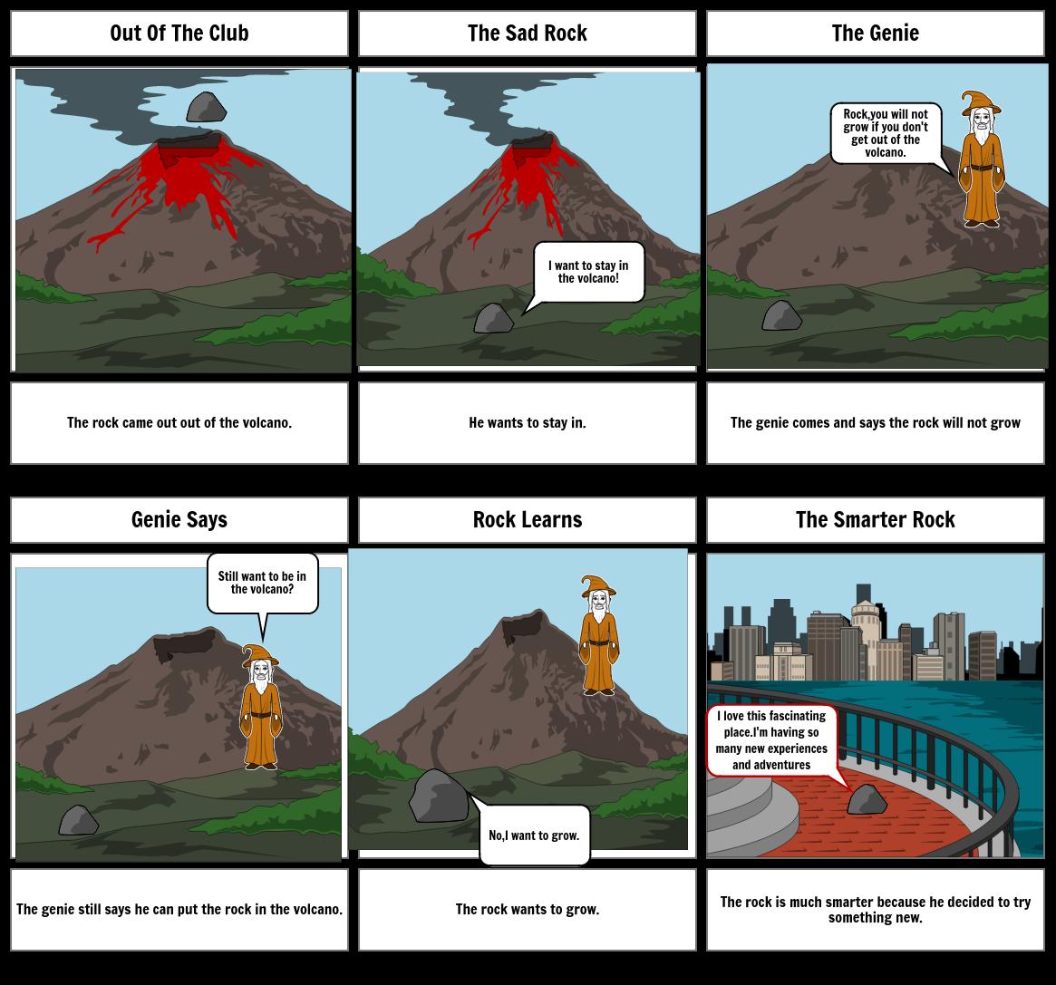 The Erupting Rock.