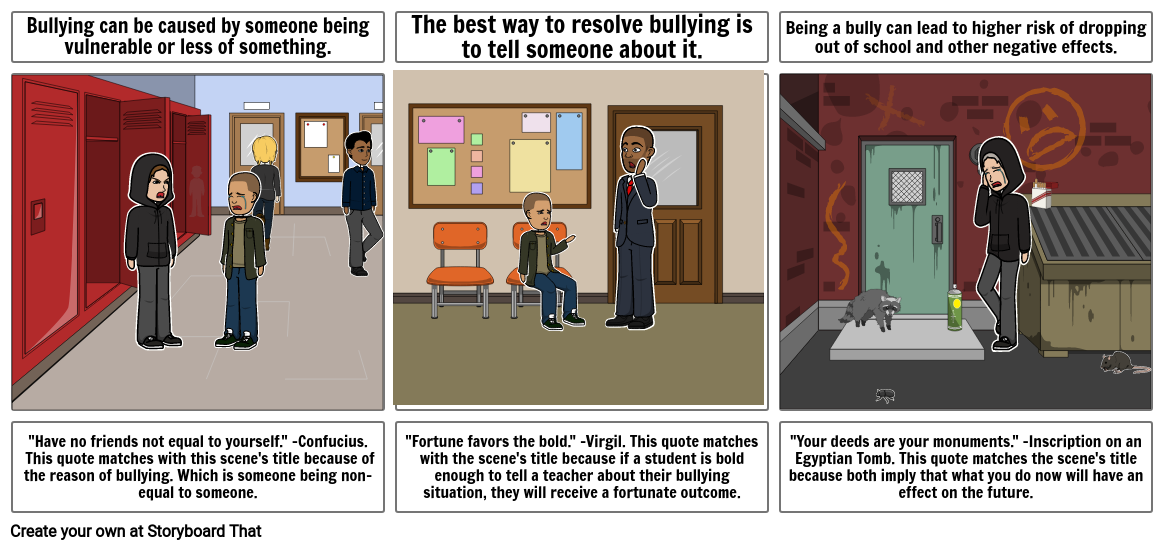 Bullying Prevention Month Campaign - Wonder Final Project - William Yang