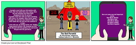 The red pyrimid brocure
