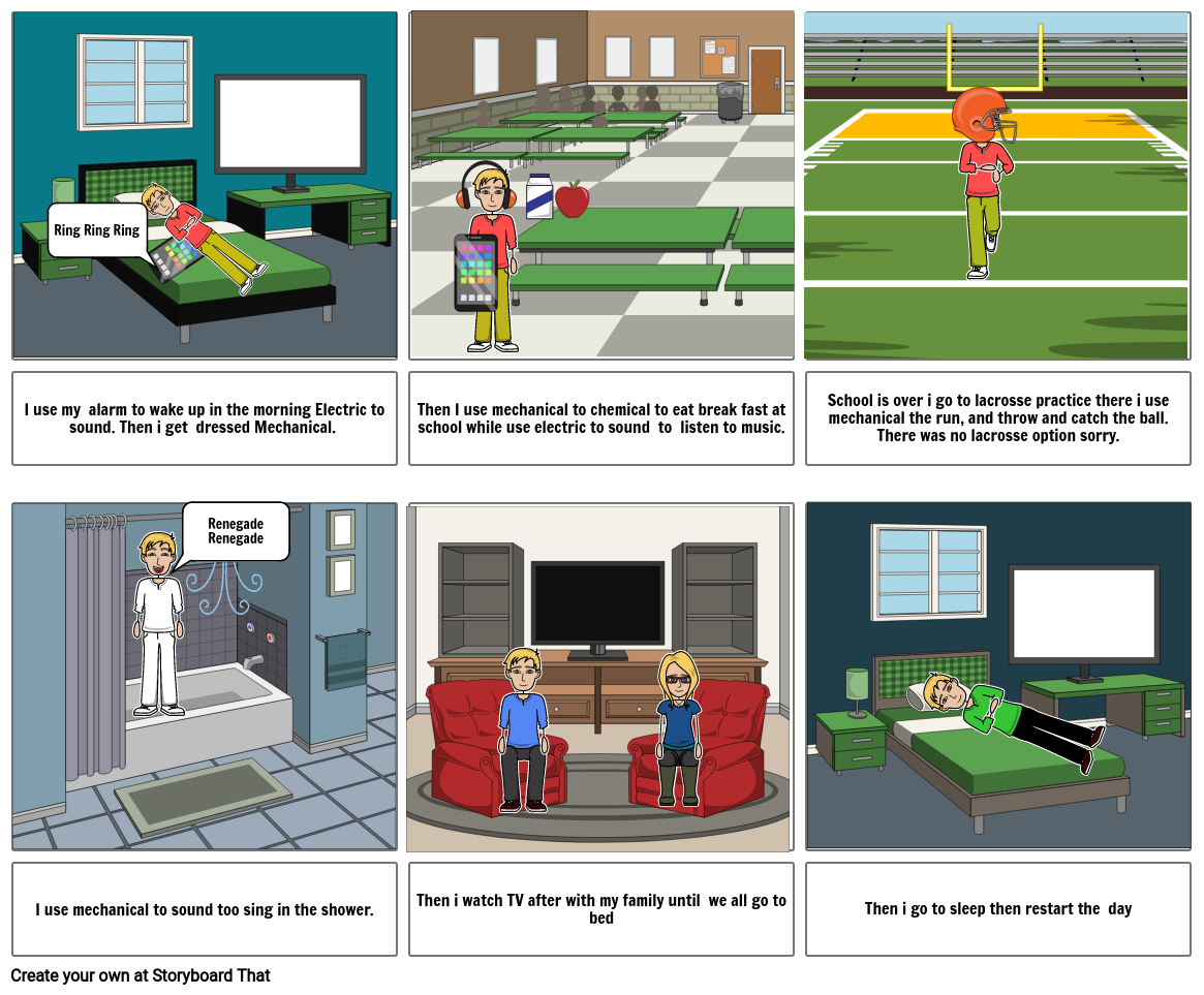 science story board