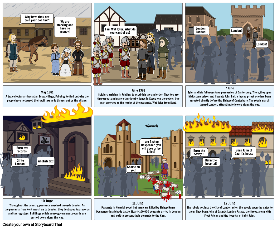 Peasants Revolt WB