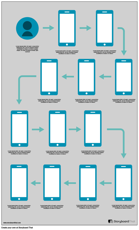 User Flow Wireframes