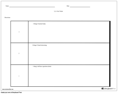 image relating to Printable Exit Tickets referred to as Acquire an Exit Ticket Exit Ticket Template and Strategies