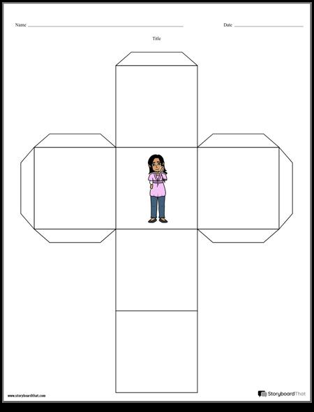 photograph regarding Printable Cube named Printable Tale Cubes Tale Dice Templates