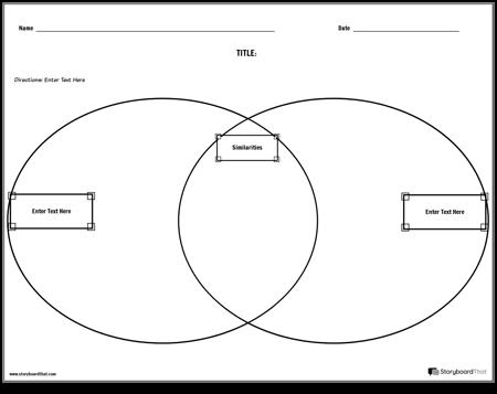 Compare Contrast Venn Diagram
