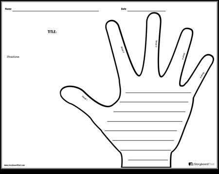 Creative Writing - Hand